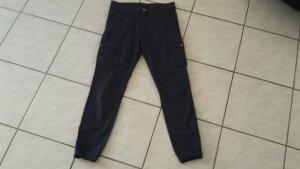 Esprit Pantalon large bleu foncé coton