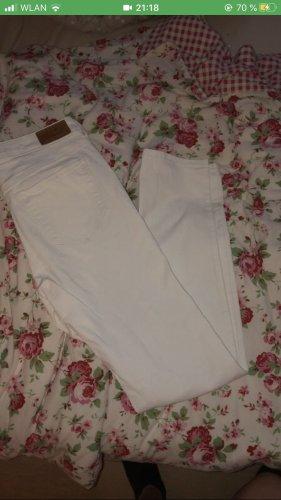 Edc Esprit Pantalone a vita bassa bianco