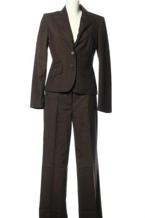 Esprit Traje de pantalón marrón estilo «business»