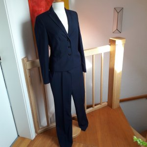 ESPRIT Hosenanzug dunkelblau Business-Look Gr. 36