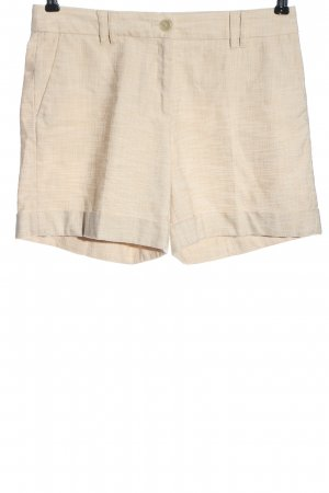 Esprit Hot Pants wollweiß Webmuster Casual-Look