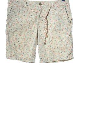 Esprit Hot Pants Allover-Druck Casual-Look
