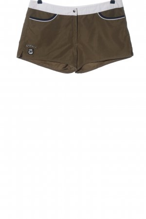 Esprit Hot Pants braun-weiß Casual-Look