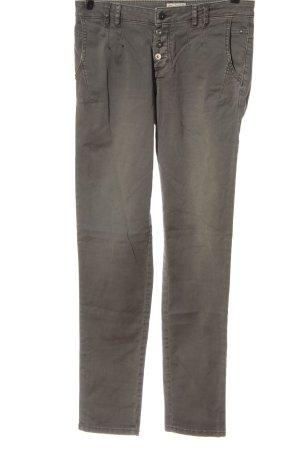 Esprit pantalón de cintura baja caqui look casual
