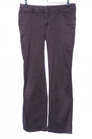 Esprit Low-Rise Trousers brown casual look