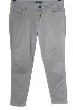 Esprit Low-Rise Trousers light grey casual look