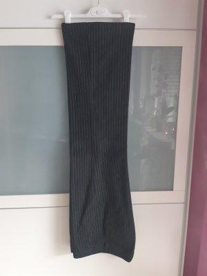 ESPRIT_Hüfthose/regular_G 34 _ dunkelblau-schwarz/Nadelstreifen