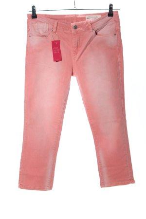 Esprit Hüftjeans pink Casual-Look
