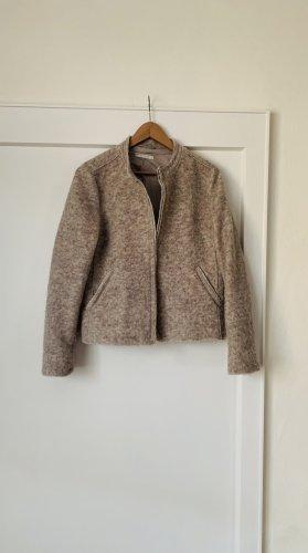 Esprit Wełniany sweter jasnobeżowy