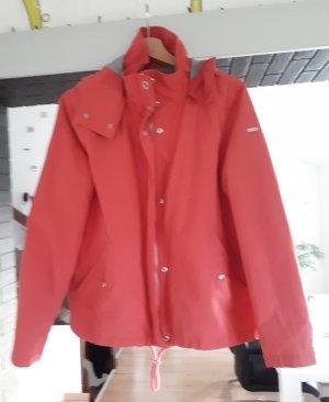 Esprit Veste à capuche rouge framboise