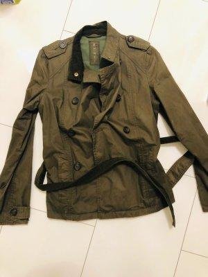 Esprit Blouse Jacket grey brown-ocher