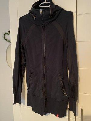 Edc Esprit Chaqueta estilo camisa negro-gris antracita