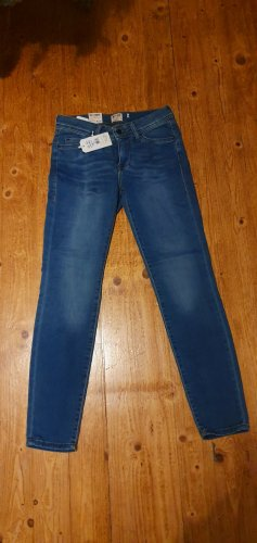 Mustang Pantalon cigarette bleu clair