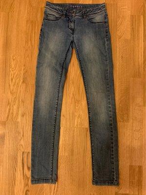 ESPRIT Jeans 158 Gummizug mit Knöpfen im Bund
