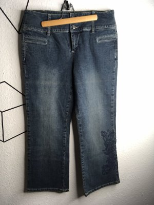 Esprit Hoge taille jeans donkerblauw
