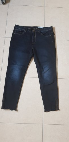 edc by Esprit Hoge taille jeans blauw-donkerblauw