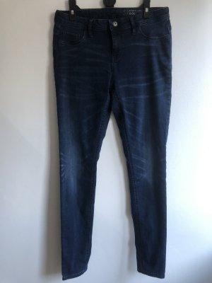 Esprit Tube jeans donkerblauw