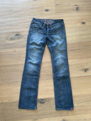 Esprit Jeans taille basse bleu
