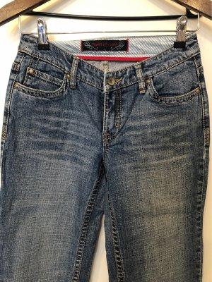Esprit Jeansy z prostymi nogawkami stalowy niebieski