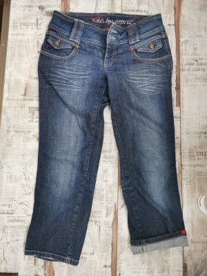 Esprit Jeans Kurz Blau