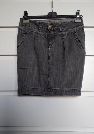 ESPRIT Jeans Rock grau 38/40