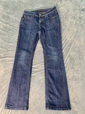 Esprit Jeansy z prostymi nogawkami ciemnoniebieski