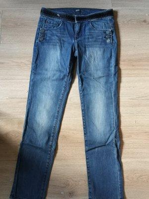 Esprit Jeans Tube  Slim I Paillettenbund