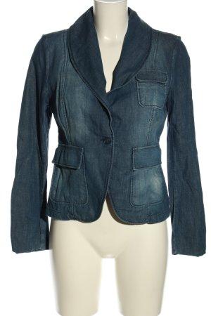 Esprit Blazer en jean bleu style décontracté