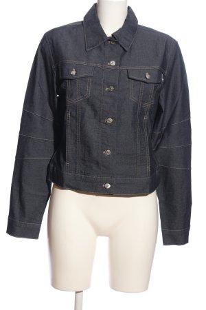 Esprit Blazer en jean noir style décontracté