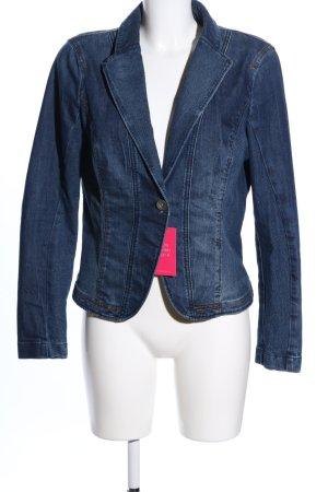 Esprit Spijkerblazer blauw casual uitstraling