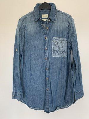Esprit Blouse en jean bleuet