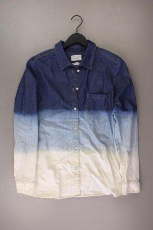 Esprit Jeansbluse Größe L Langarm mehrfarbig aus Baumwolle