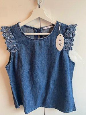 Esprit Denim Blouse blue