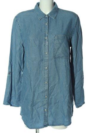 Esprit Spijkershirt blauw casual uitstraling