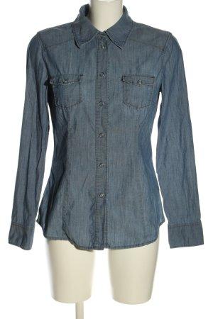 Esprit Chemise en jean bleu style décontracté