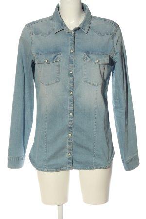 Esprit Camicia denim blu stile casual