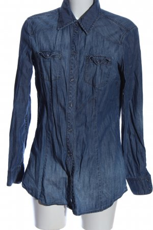 Esprit Denim Shirt blue flecked casual look