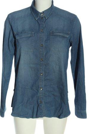 Esprit Jeanshemd blau Casual-Look