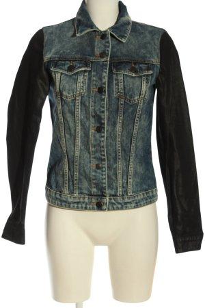Esprit Jeansjacke blau-schwarz Casual-Look