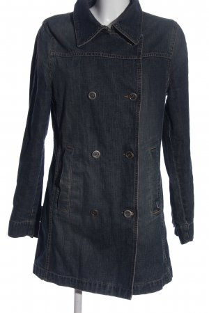Esprit Veste en jean bleu style décontracté