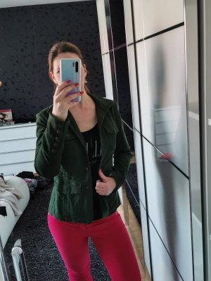 Esprit Jeansjacke Übergangsjacke Gr. 36 Grün