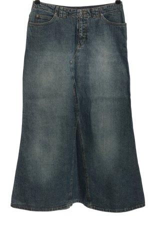 Esprit Gonna di jeans blu stile casual