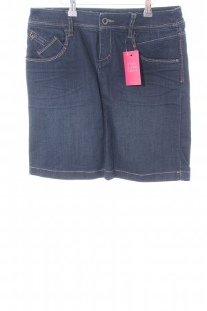 Esprit Jupe en jeans bleu style décontracté