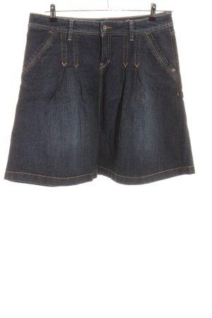 Esprit Gonna di jeans nero stile casual