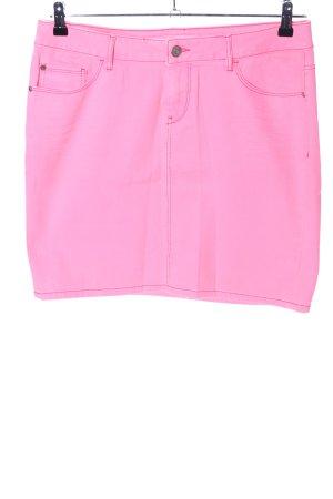 Esprit Jeansrock pink Casual-Look