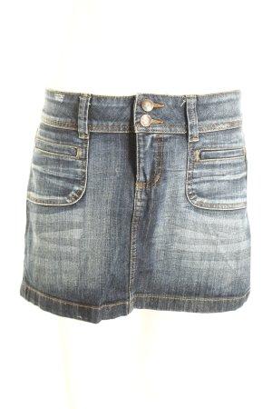 Esprit Gonna di jeans blu scuro stile casual