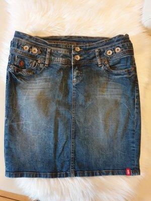 edc by Esprit Denim Skirt slate-gray