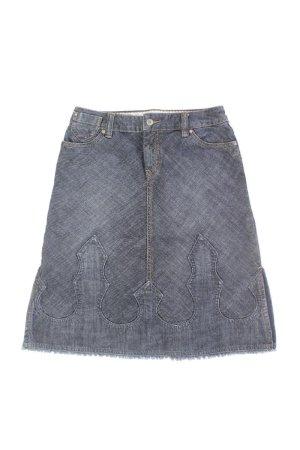 Esprit Jeansrock Größe 32 Vintage blau aus Baumwolle