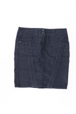 Esprit Jeansrock Größe 34 blau aus Baumwolle