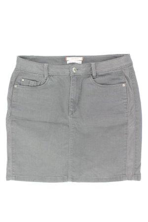 Esprit Jeansrock Größe 34 neuwertig grau aus Baumwolle